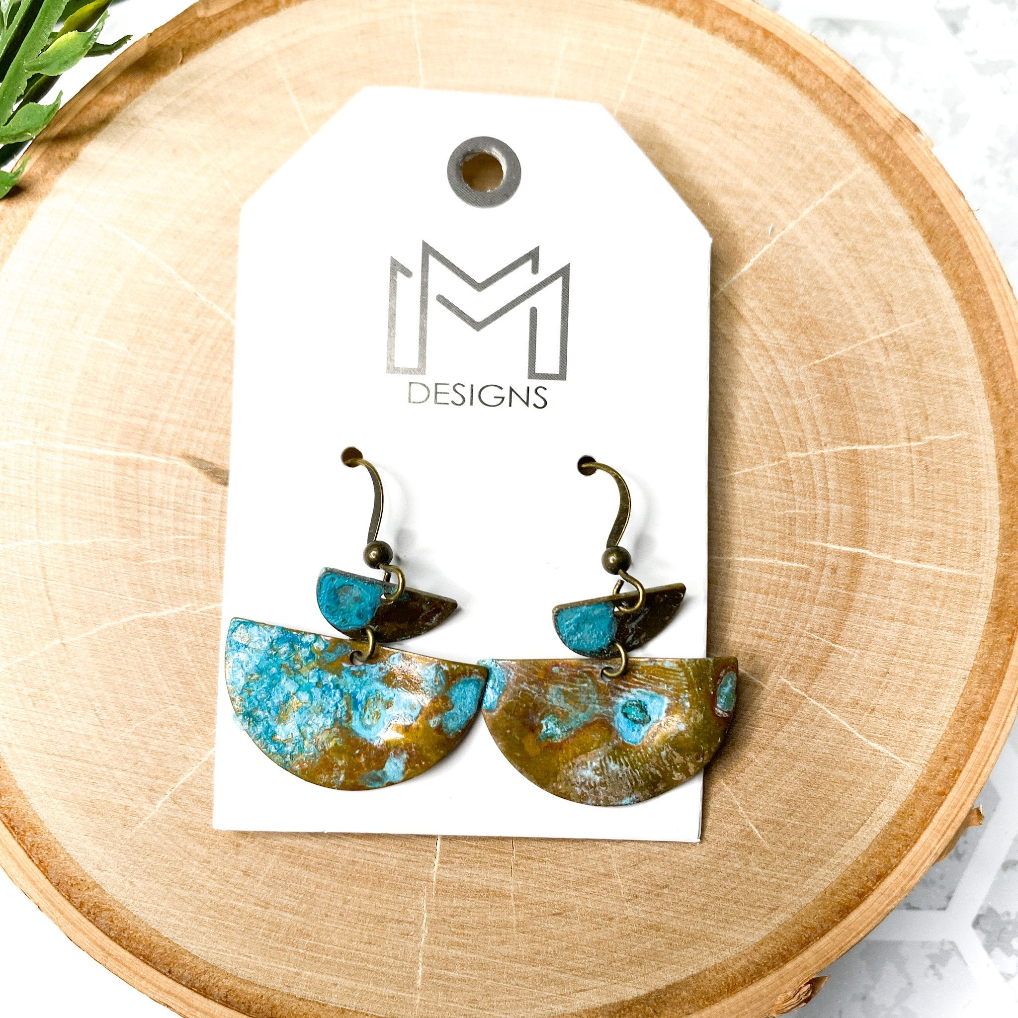 Indian Out Law Earrings