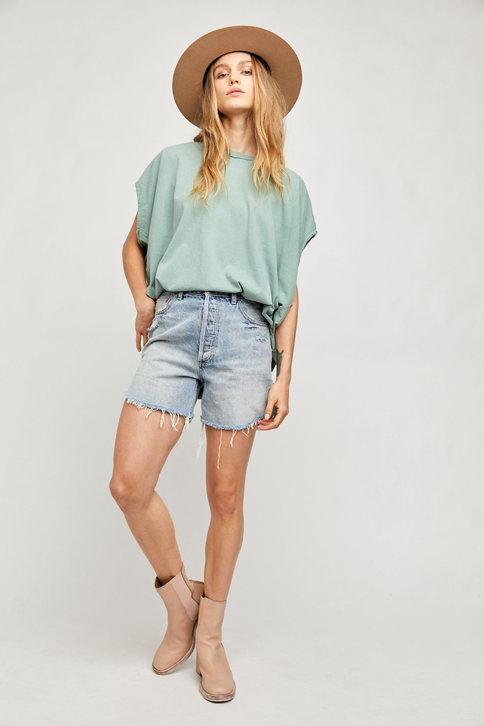 Baggy Tomboy Short by Free People