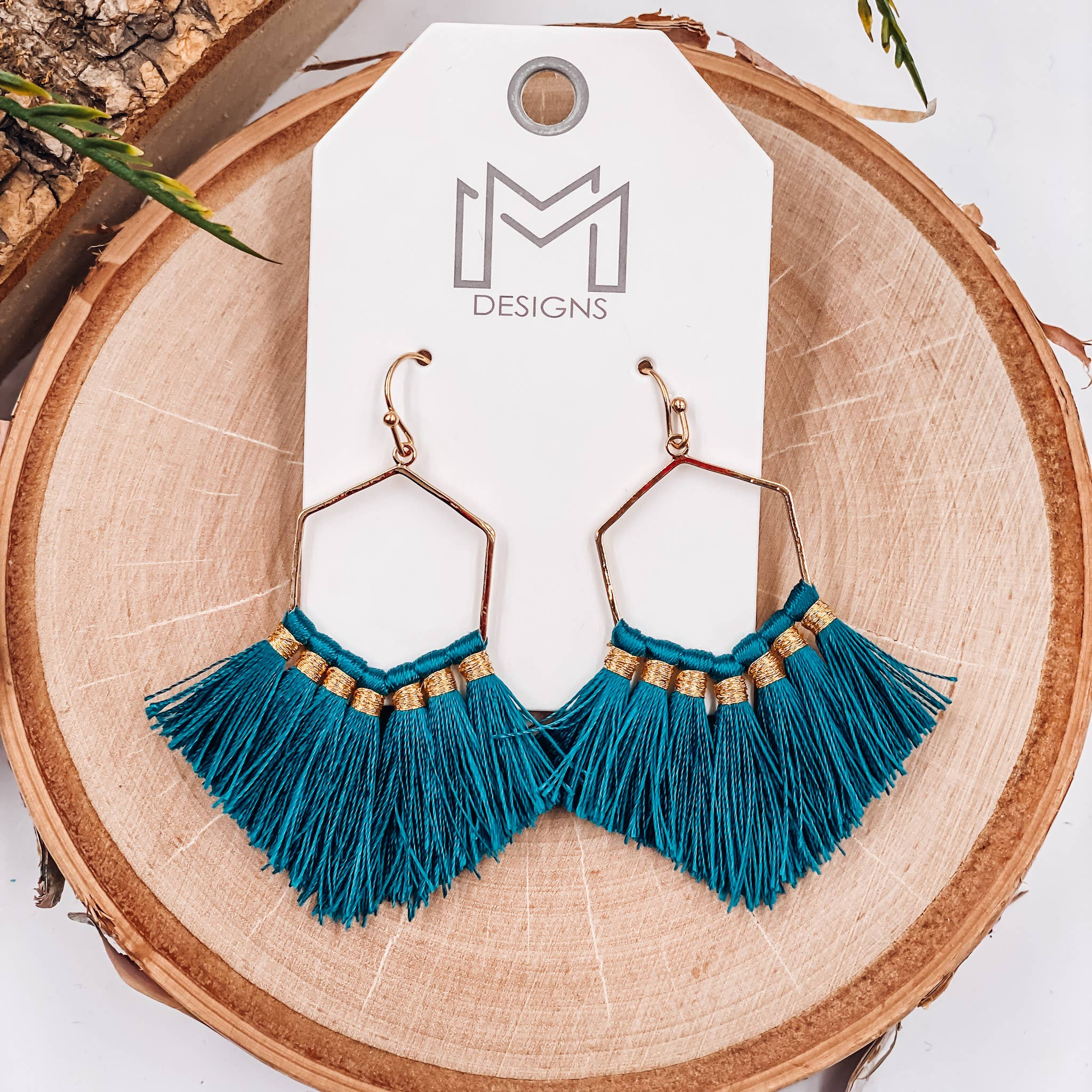 Cherokee Child Tassel Earrings