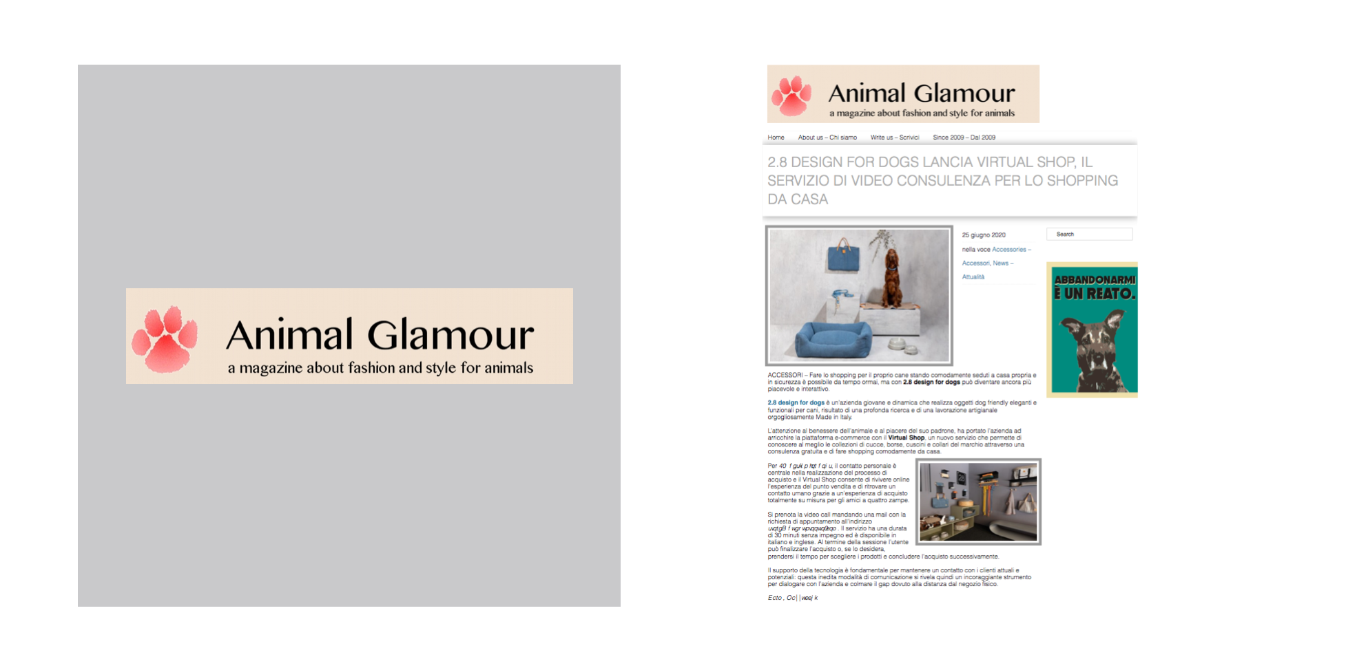 ANIMAL GLAMOUR 2.8 ARTICLE