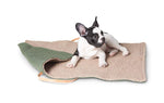 Duepuntootto Steve Sage Green Jute Dog Travel Mat