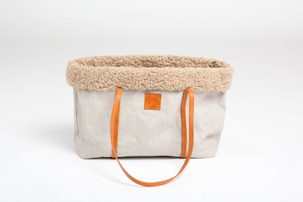 Duepuntootto Cellulose Fiber Annie Dog Bag - Nero & Sofia