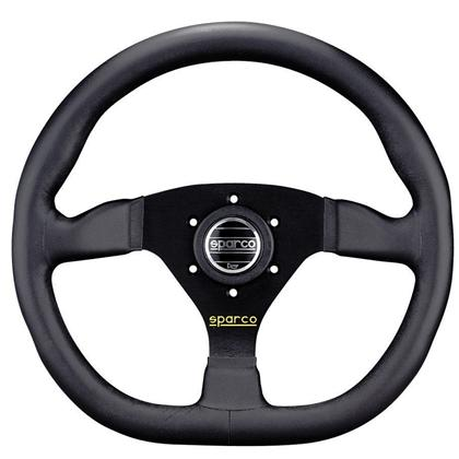 Sparco L360 Steering Wheel Black Leather