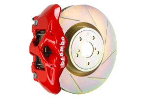 Brembo GT System Monobloc 4 Piston 326mm Slotted Front Red
