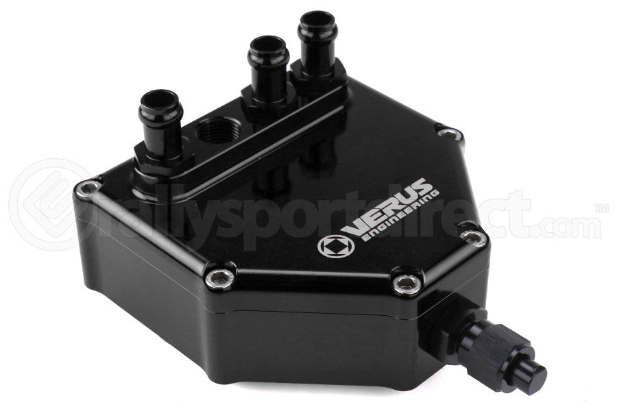 Verus Engineering Dual Air Oil Seperator Anodized