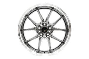 Option Lab S718 19x9.5 +35 5x114 Nightfall Grey w/ Machined Lip