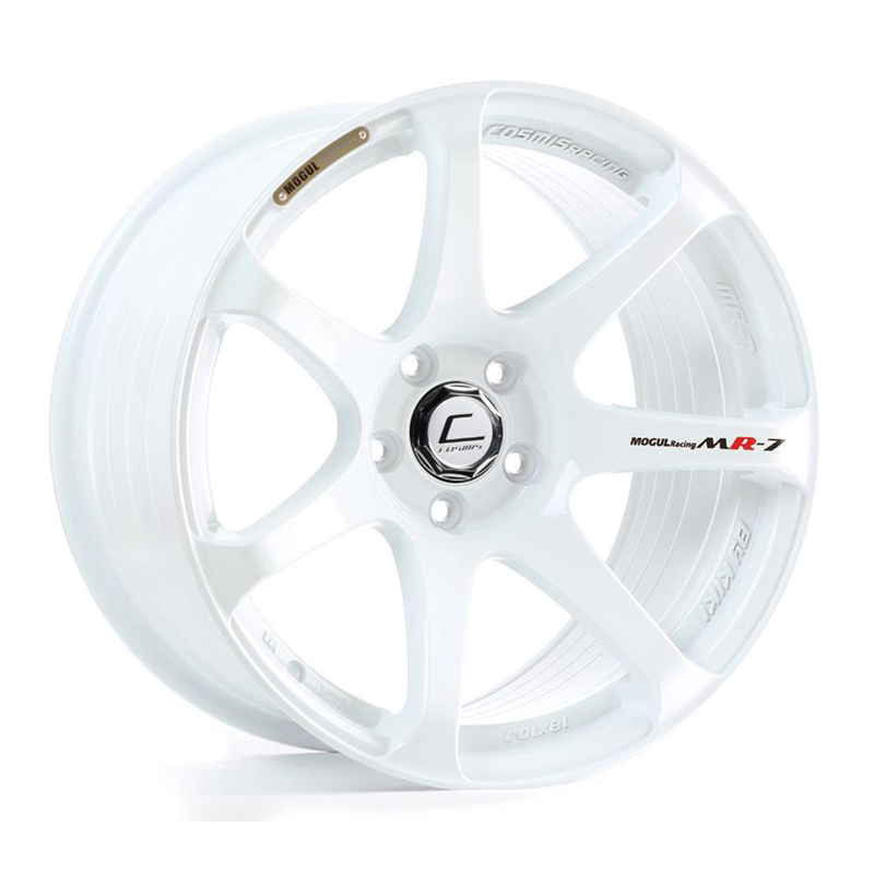 Cosmis Racing MR7 White 18x9 +25mm 5x100