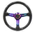 NRG Carbon Fiber Steering Wheel 350mm 1.5'' Deep Neochrome