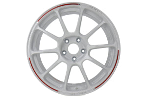 Volk Racing ZE40 RW 18x9.5 +37 5x114 Dash White