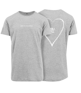 ZL Love To The World Shirt - Heart Design