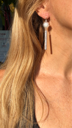 Sun Bar Earrings