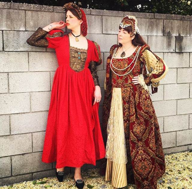 Renaissance Woman Costume Rental