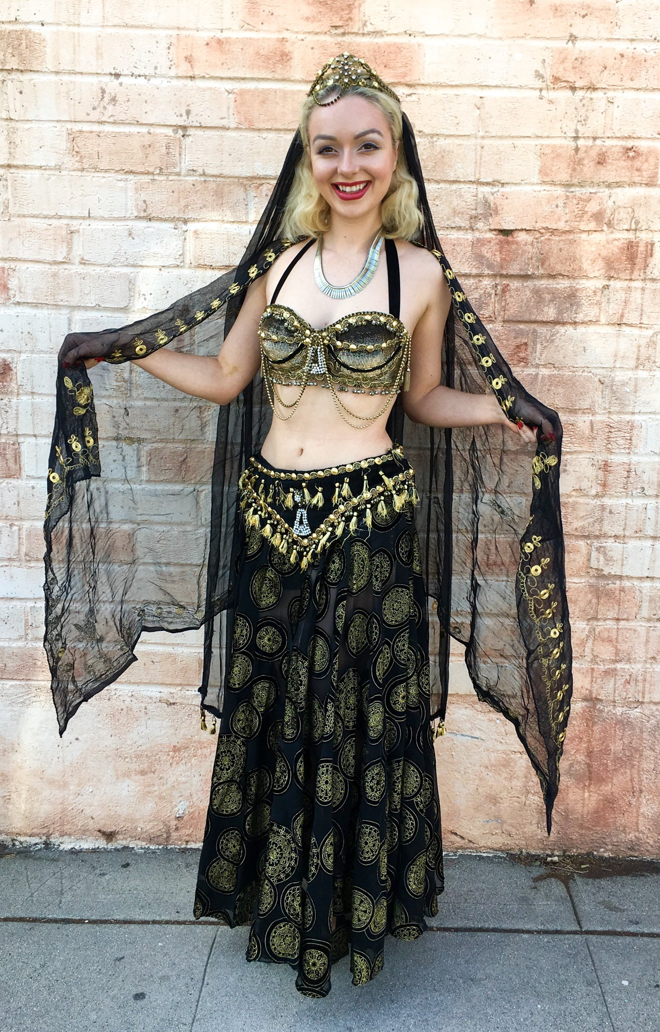 Belly Dancer Costume Rental