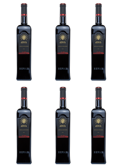 Château de Berne Côtes de Provence Red 2016 - Case of Six