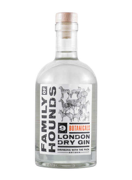 Family of Hounds 9 Botanical London Dry Gin