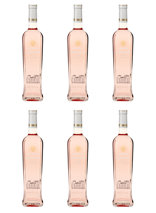 Château de Berne Inspiration Rosé 2018 - Case of Six