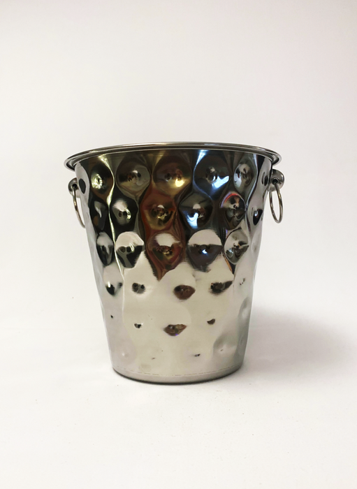 Champagne Hammered Ice Bucket