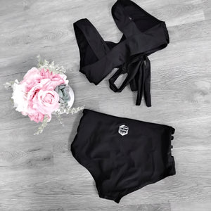Black 2 pc suit