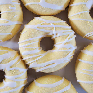 Bath bomb Pineapple smoothie Donut