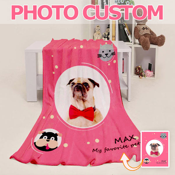 Custom Blanket From Photo - Personalized Blanket