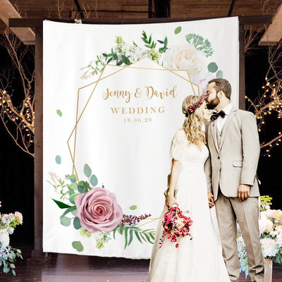 Custom Wedding Backdrop