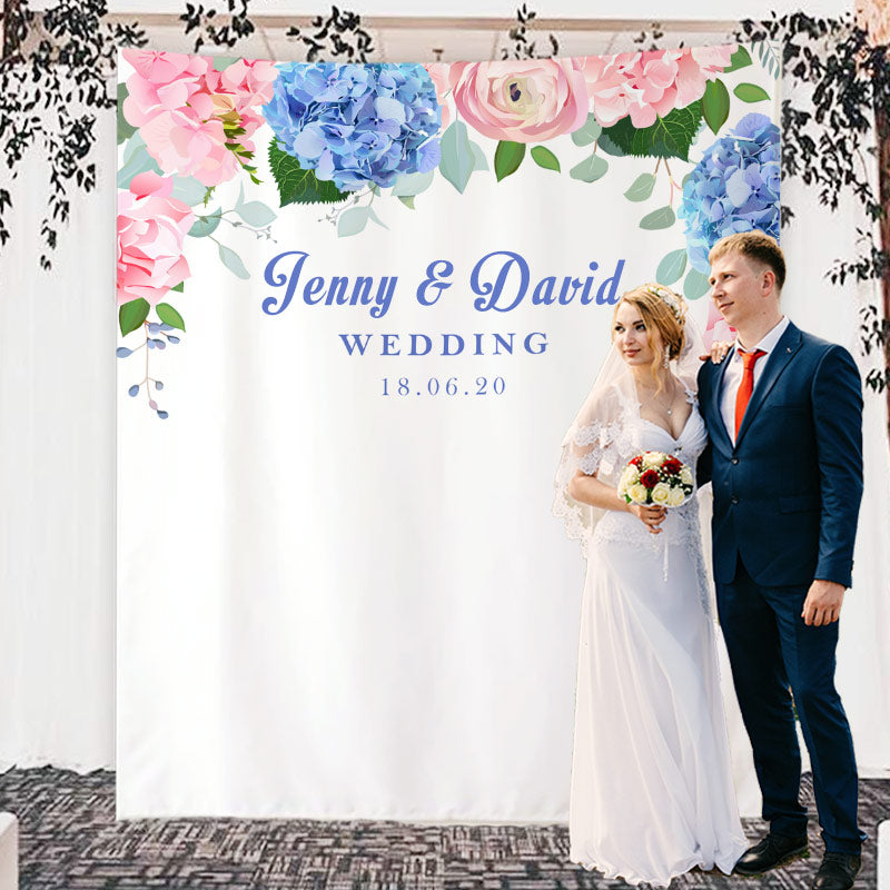 Custom Wedding Backdrop C
