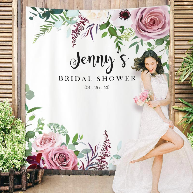 Custom Bridal Shower Backdrop B