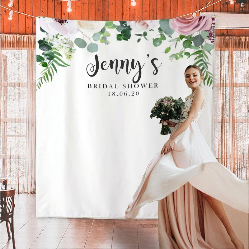 Custom Bridal Shower Backdrop C