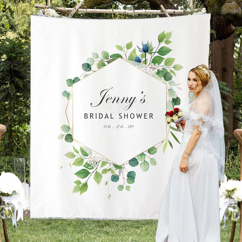 Custom Bridal Shower Backdrop D