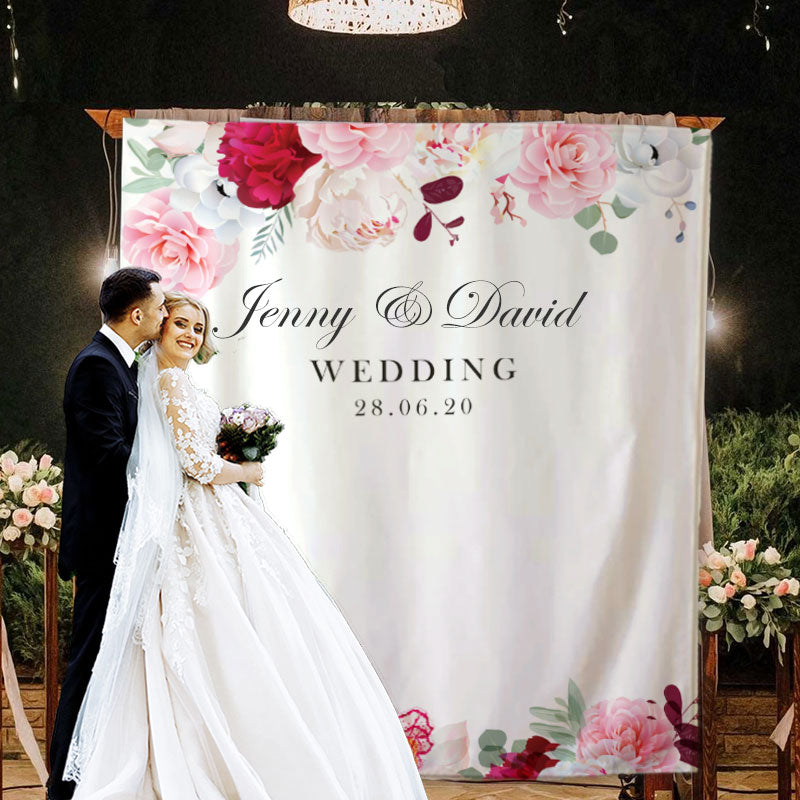 Custom Wedding Backdrop E