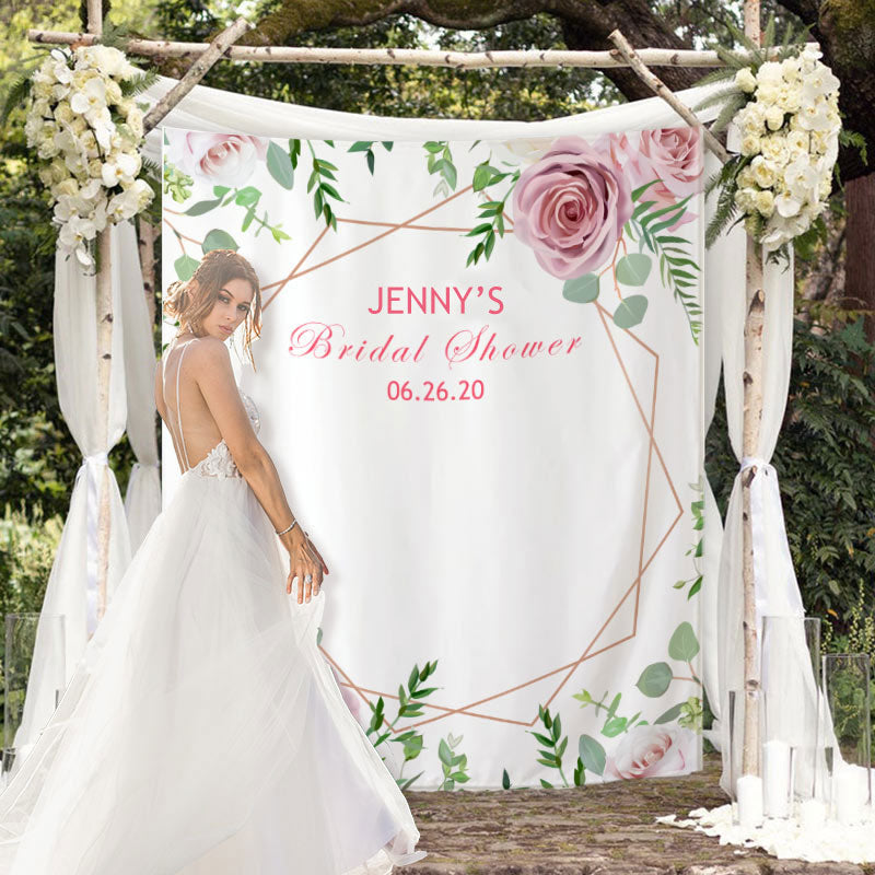 Custom Bridal Shower Backdrop G