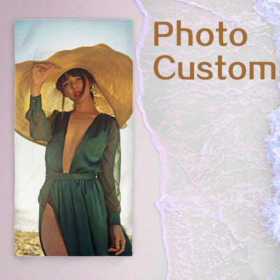 Custom Beach Towel - Personalized beach towels from photo