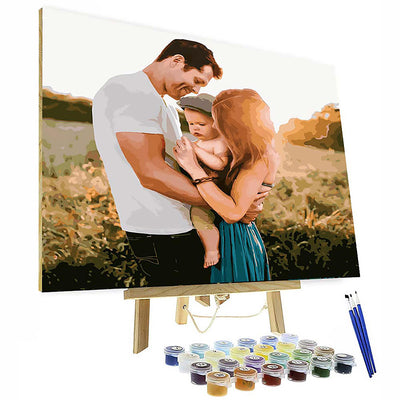 Paint by Number Kit - Customized Oil painting For Your Love
