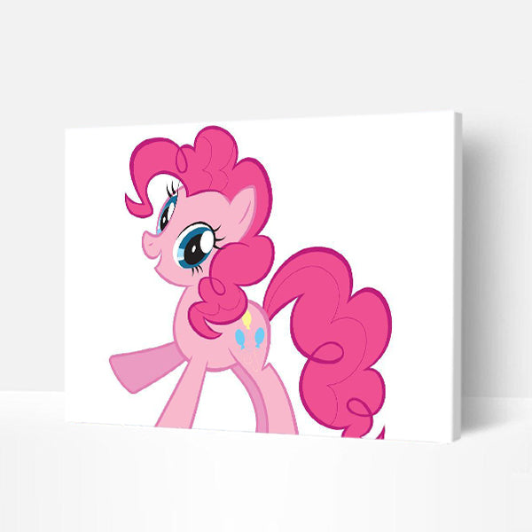Paint by Numbers Kit -Pink Pony