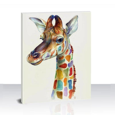 Paint by Numbers Kit -Colorful Giraffe