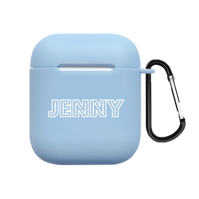 Custom Name AirPods 1&2 Case With Keychain