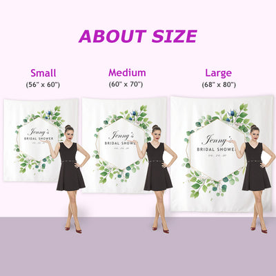 Custom Wedding Backdrop D