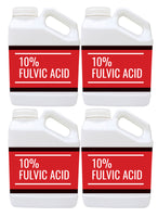 Case of 4 10% Fulvic Acid Gallon