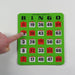 easy read bingo cards, finger tip sliding bingo cards, sliding window bingo cards, bingo card, regal games bingo cards, bingo accessory, bingo accessories, adult bingo, seniors bingo, childrens bingo, kid bingo, bingo sets