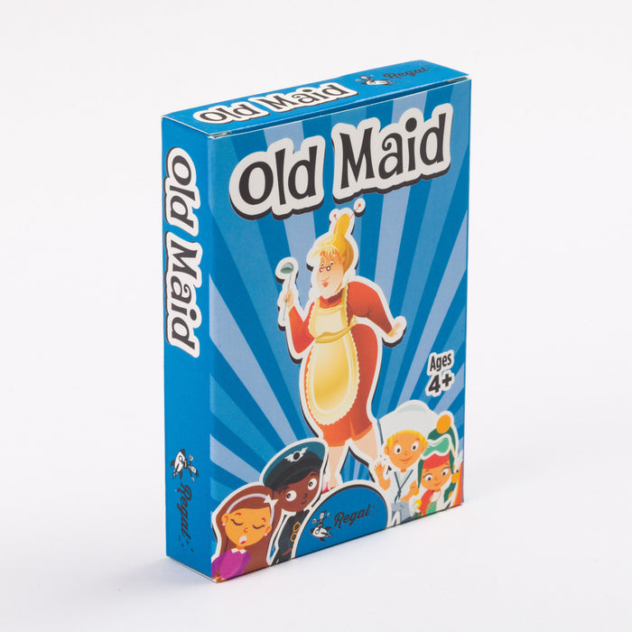 kids classic card games, kids card games, travel games, classic games, old maid, regal games