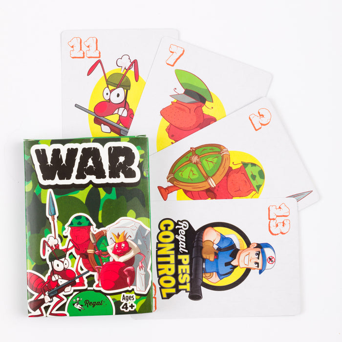 classic card games, war, kids games, travel games, classic card games for kids, regal games, airplane games
