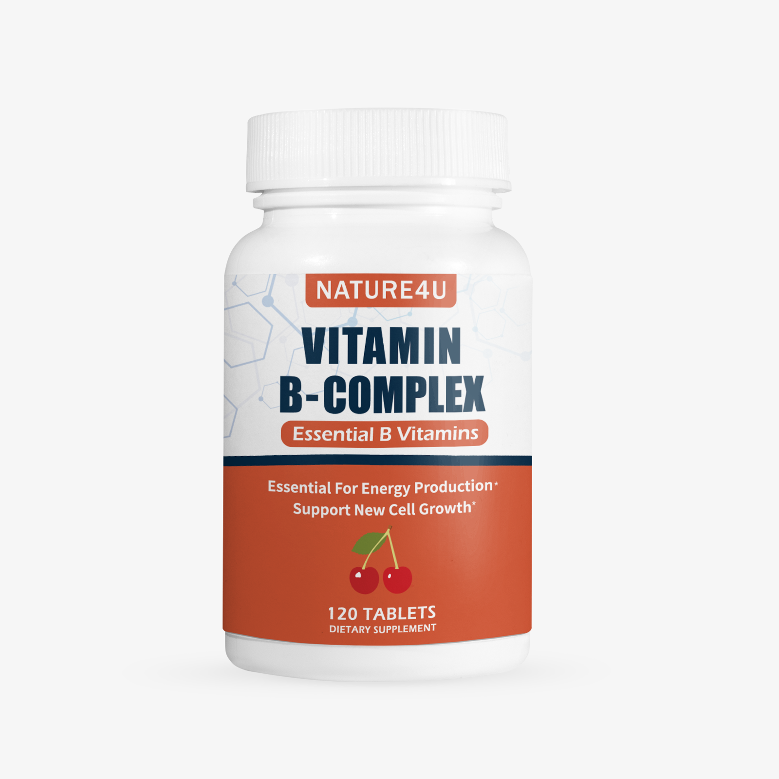 Vitamin B Complex - All B Vitamins 120 Tablets