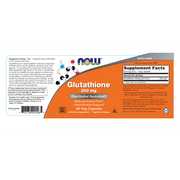 Now Foods - Glutathione, 250mg, 60 Veg Caps