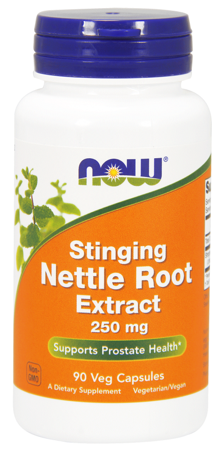 Now Foods - Stinging Nettle Root Extract 250 mg Veg Capsules