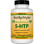 Healthy Origins - 5-HTP, Mood/Sleep, 4 Sizes, Veggie Capsules