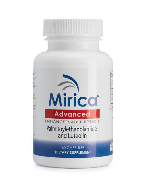 Mirica® - Advanced, Enhanced Absorption Formula, Palmitoylethanolamide (PEA) and Luteolin - 60 Capsules