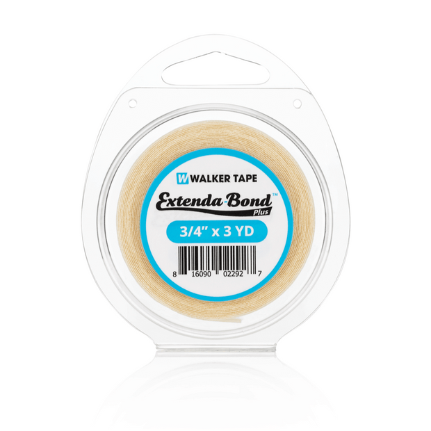 "Walker Tape - Extenda-Bond Plus Tape 3/4"", Hairpiece, Wigs Toupees - 3YRDs"