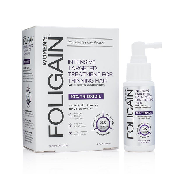 Foligain - Hair Regrowth Treatment For Women with 10% Trioxidil
