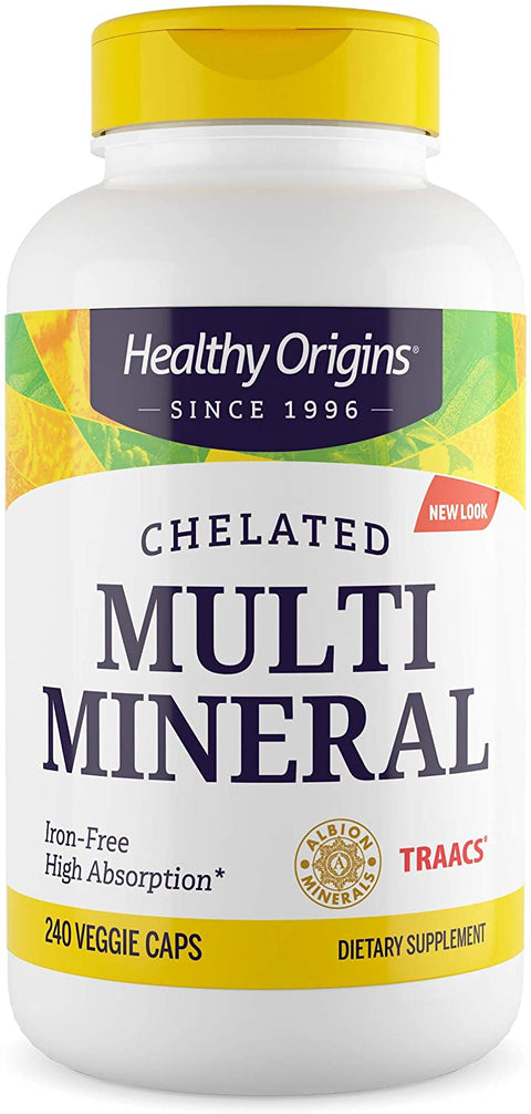 Healthy Origins - MULTI MINERAL - CHELATED, 240 VCAPS