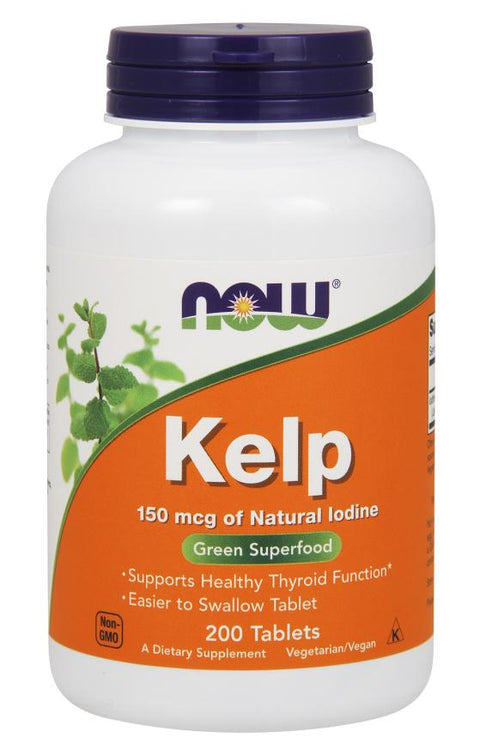 Now Foods - Kelp 150 mcg - 200 Tablets